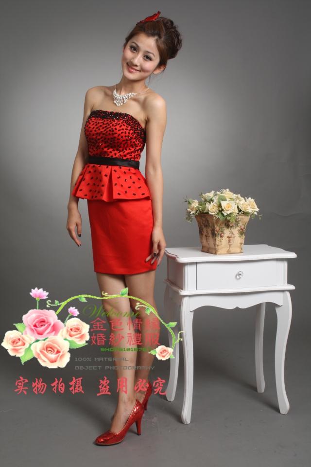 Вечернее платье Golden Love 2012 Golden Love Средней длины (76-90см)