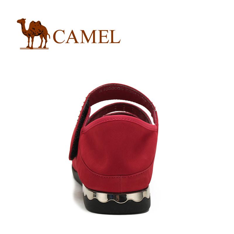 Босоножки Camel 1056005 Плоская подошва Верхний слой из воловьей кожи