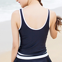 Korea Couple Hot Spring Bathing Suit Female Conservative Swimsuit Siamese Gathered Skirt Thin Abdominal Cover of Small Chest Sexy Swimwear