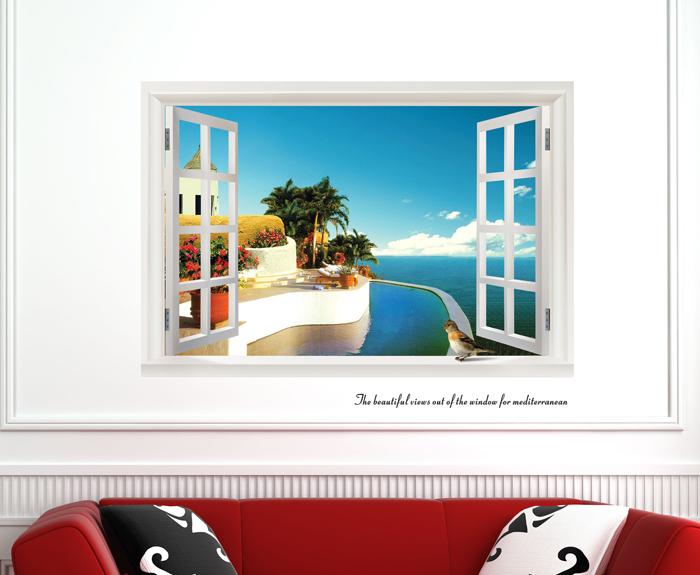 Цвет: Вид на море окнами