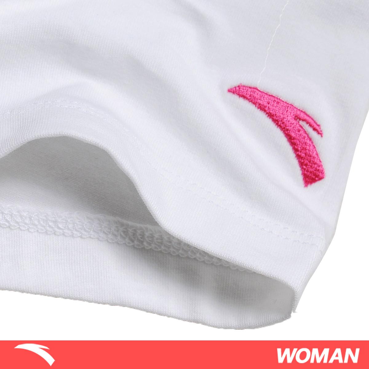 Спортивная футболка Anta 16122146/1 16122146-1 Стандартный О-вырез Короткие рукава ( ≧35cm ) Универсальные ткани Для спорта и отдыха Влагопоглощающие, Быстросохнущие, Воздухопроницаемые Логотип бренда