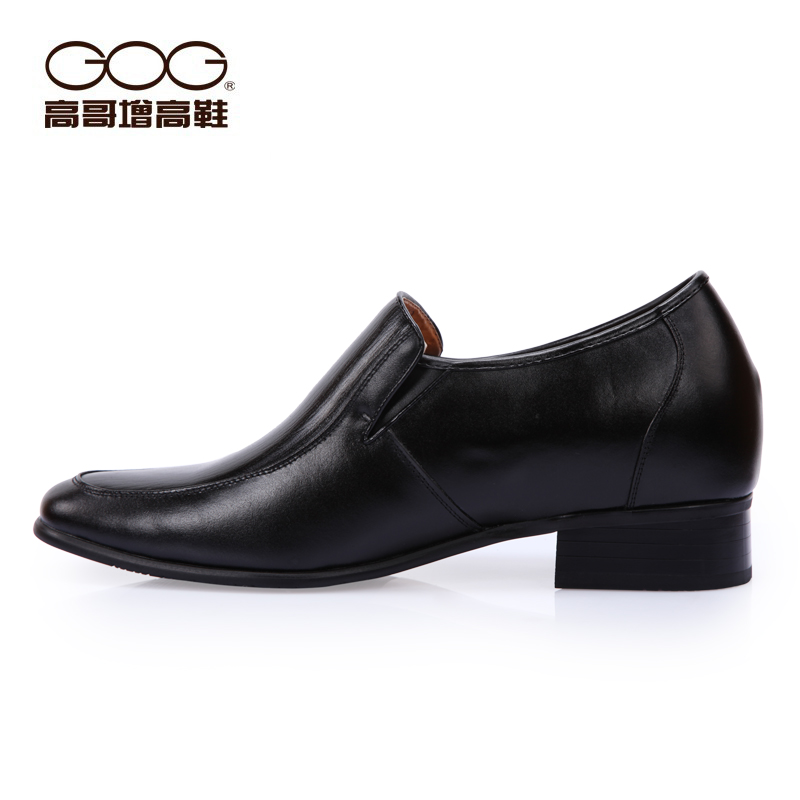 Демисезонные ботинки Gog a1688 GOGA1688 Официальные Верхний слой из натуральной кожи Острый носок Без шнуровки Лето