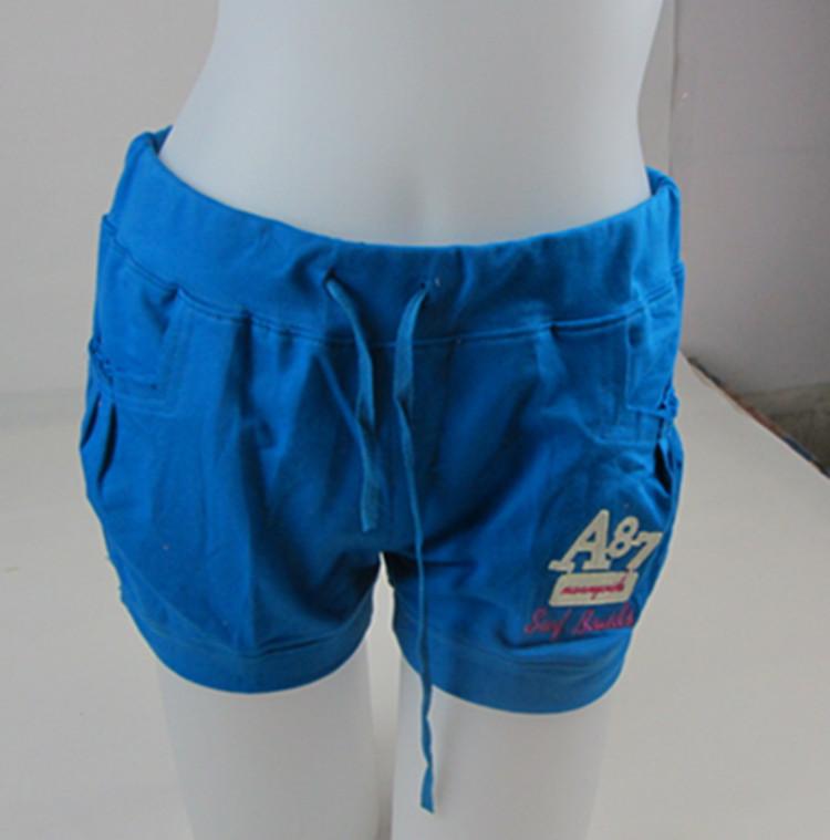 Пижамные штаны Mouth monkey Девочки Тканое полотно с подкладкой из хлопка Хлопок Однотонный цвет Простой (повседневный) стиль Лето