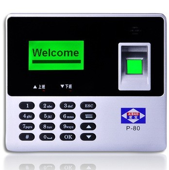 love treasure card Fingerprint Attendance LCD Screen Punch Card Machine