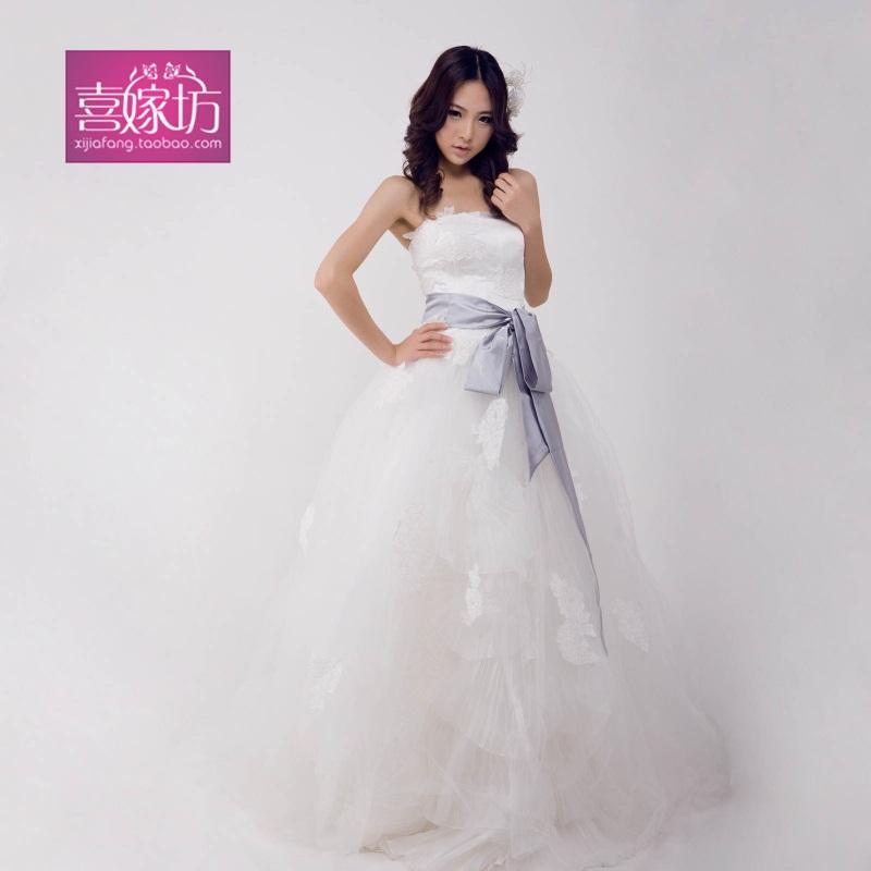 Свадебное платье Hi married Square zx002 Vera Wang 2011 Сетка Небольшой шлейф Модные