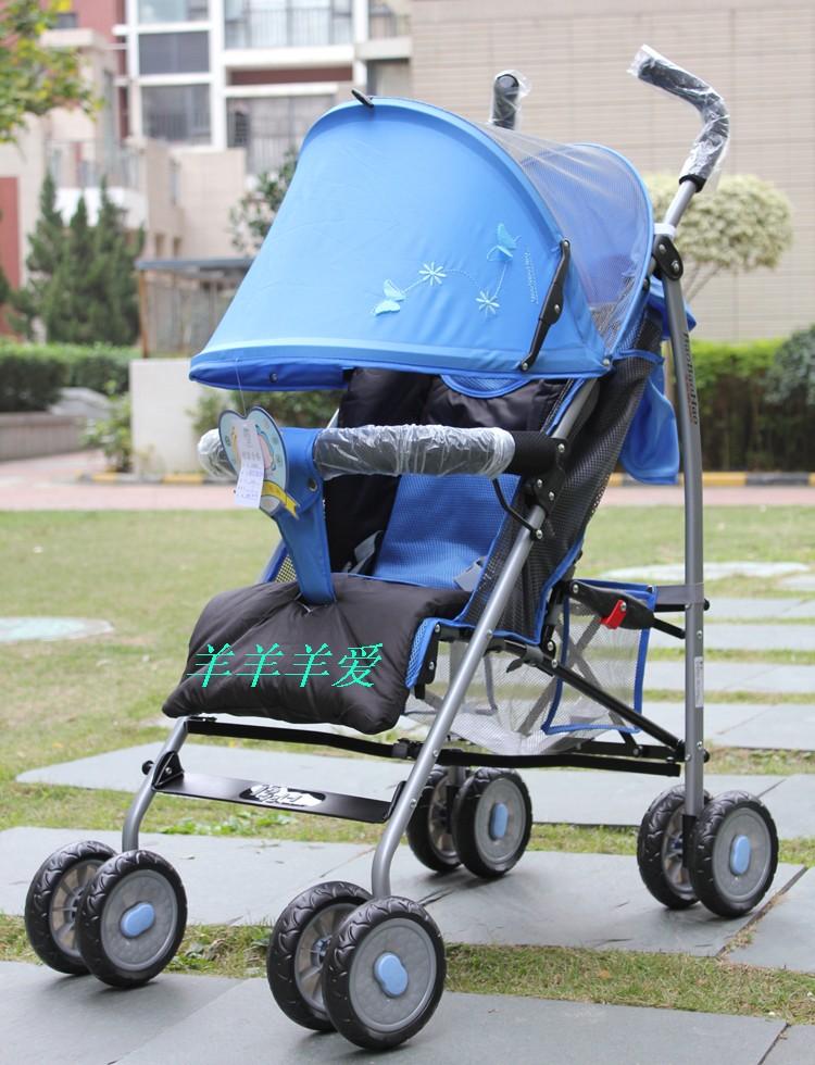 儿童推车 宝宝好630 婴儿手推车 可折叠婴儿车可平躺伞车 儿童车 推荐