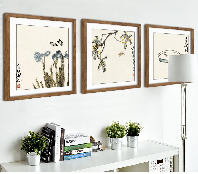 Фреска Teng painting 15 Цветы С рамкой
