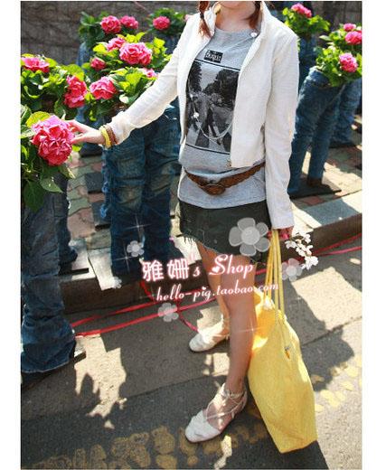 Сумка 2012 жен. сумка через плечо однотонный цвет солома