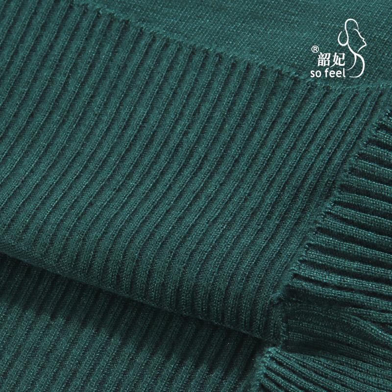 Свитер женский Shao/Fei 8898 2012 Разные комбинированные волокна Осень 2012 Длинный рукав Классический рукав Воротник-хомут
