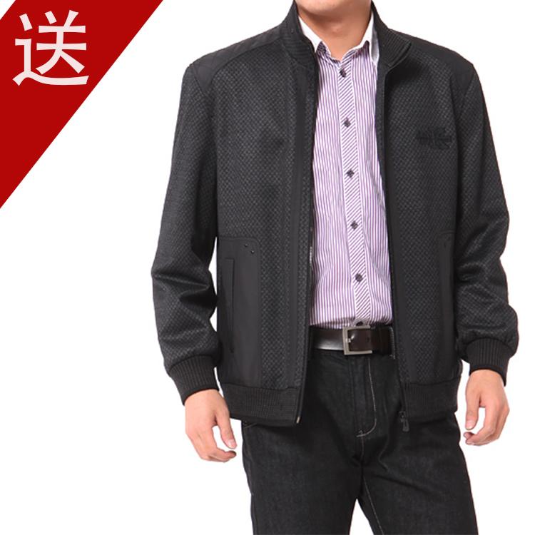 Пальто мужское Golden Shield 2013 Шерстяная ткань для пальто Отложной воротник