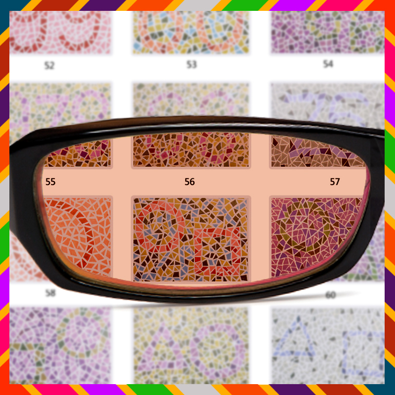 in colorblind examination glasses blind corrective glass eyeglasses sunglasses sun driving men price color blindness from red working blinds item s green