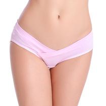 新款纯棉孕妇内裤 四季透气 托腹低腰无痕三角裤舒适提臀女士内裤