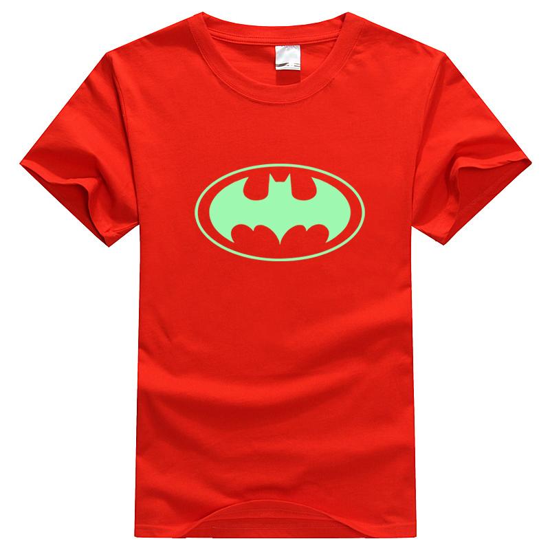 Футболка мужская Jia Meng different to the days YG003 2012 Batman Короткие рукава (длина рукава <35см)