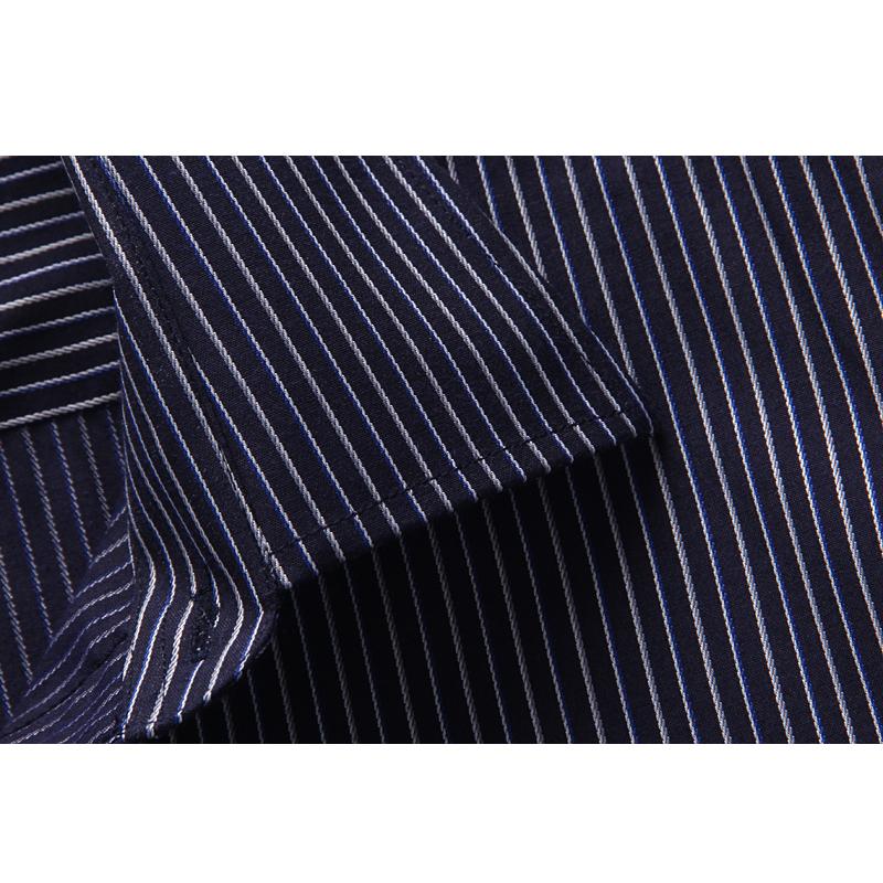 Рубашка мужская Alligator 11697 Лето 2012 Ткань с цветными полосками Квадратный воротник Длинные рукава ( рукава > 57см )