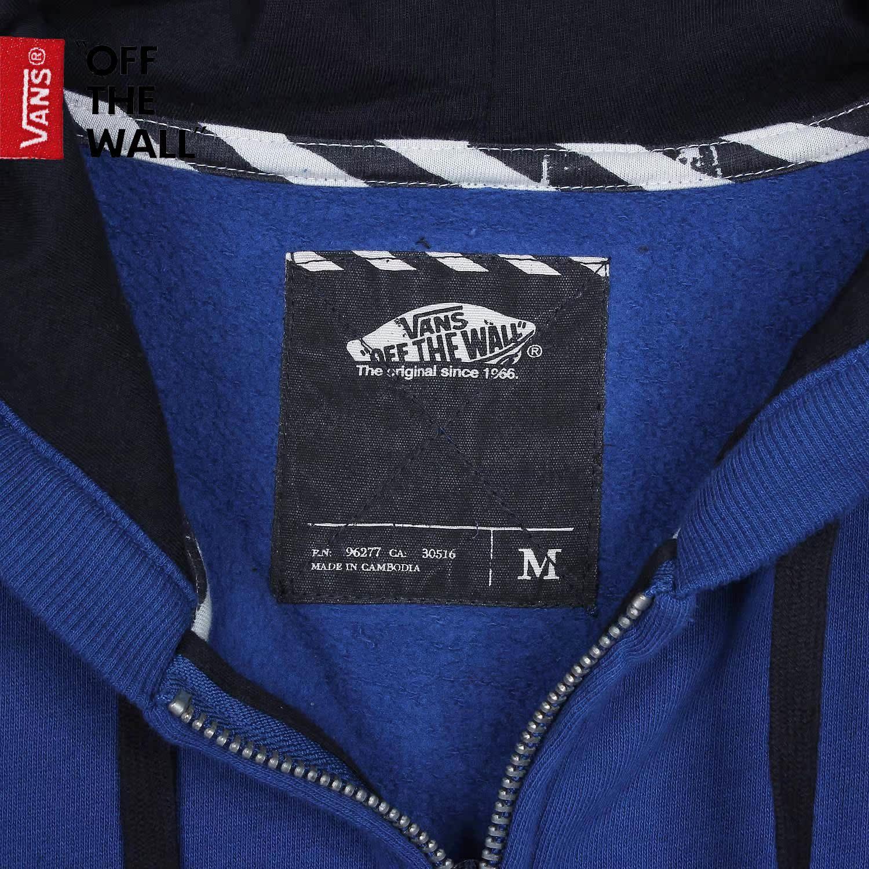 Спортивная куртка VANS VN/0j6k6oq Jd 5VANS/CLASSIC ZIP HOODIE VN-0J6K6OQ Для мужчин Воротник с капюшоном Молния Логотип бренда, Надпись