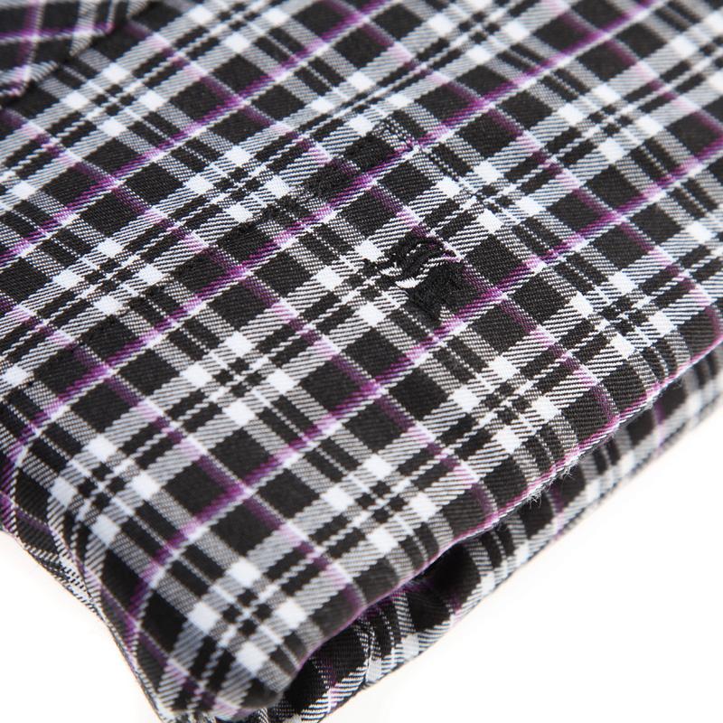 Рубашка мужская Firs fe29440 41 Зимняя Ткань в клетку Квадратный воротник Длинные рукава ( рукава > 57см )
