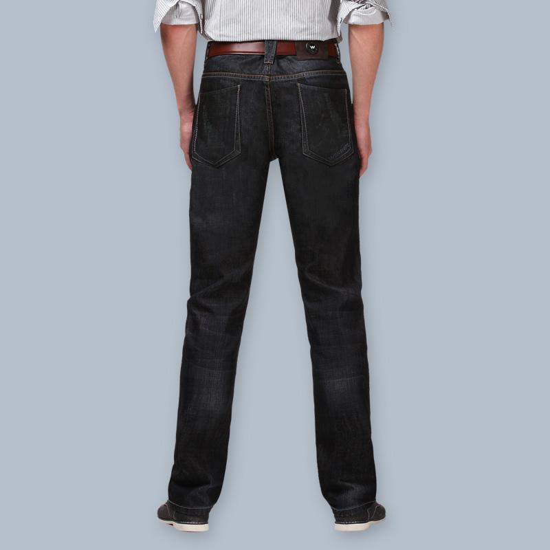 Джинсы мужские Paper when special w01010 Облегающий покрой Классическая джинсовая ткань Модная одежда для отдыха 2012