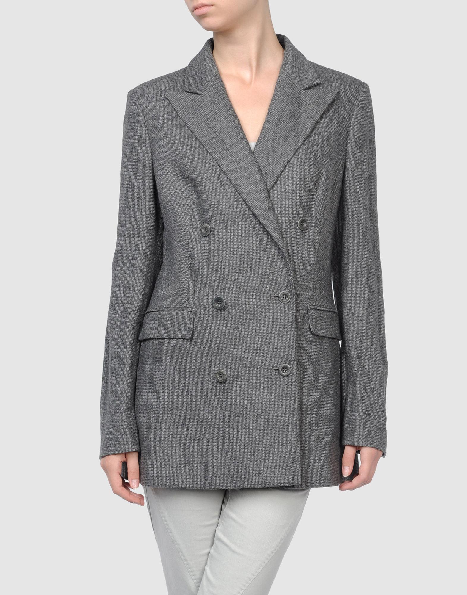 【junono美国专柜】正品 see by chloe 羊毛双排扣西装外套 现货