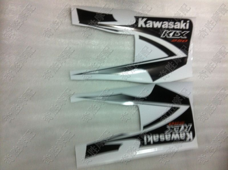 Наклейка на мотоцикл Модификация мотоцикл Kawasaki внедорожных klx250 Декаль наклейки качества