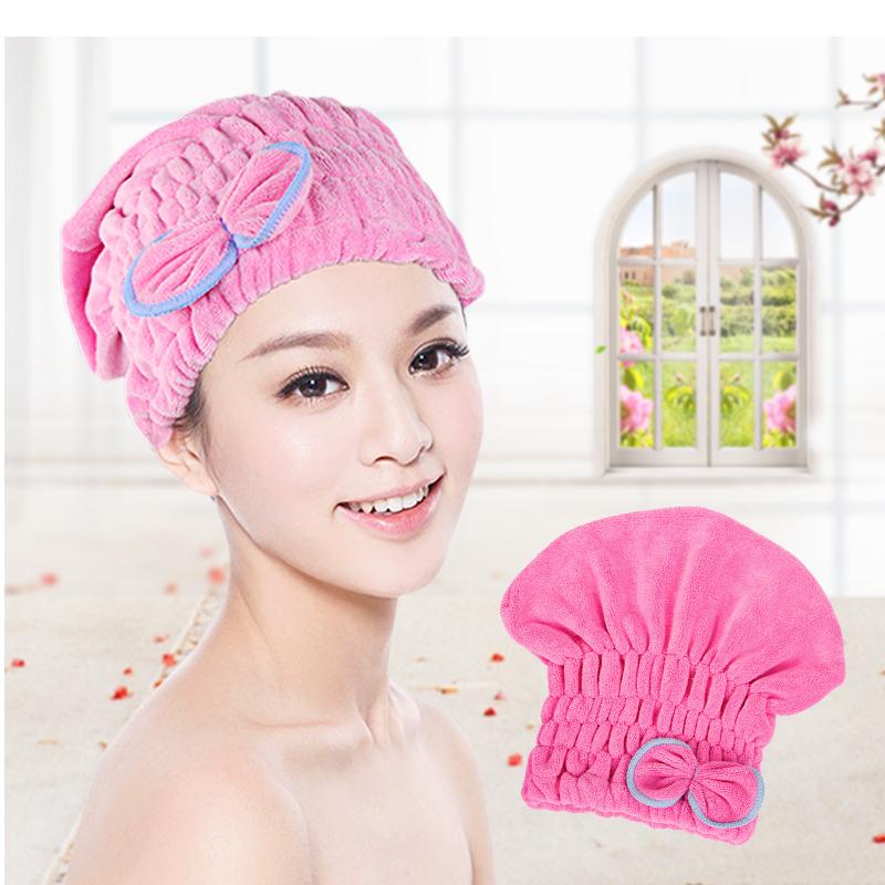 特价韩国加厚强力吸水干发帽擦头发速干毛巾包头巾干发巾包头