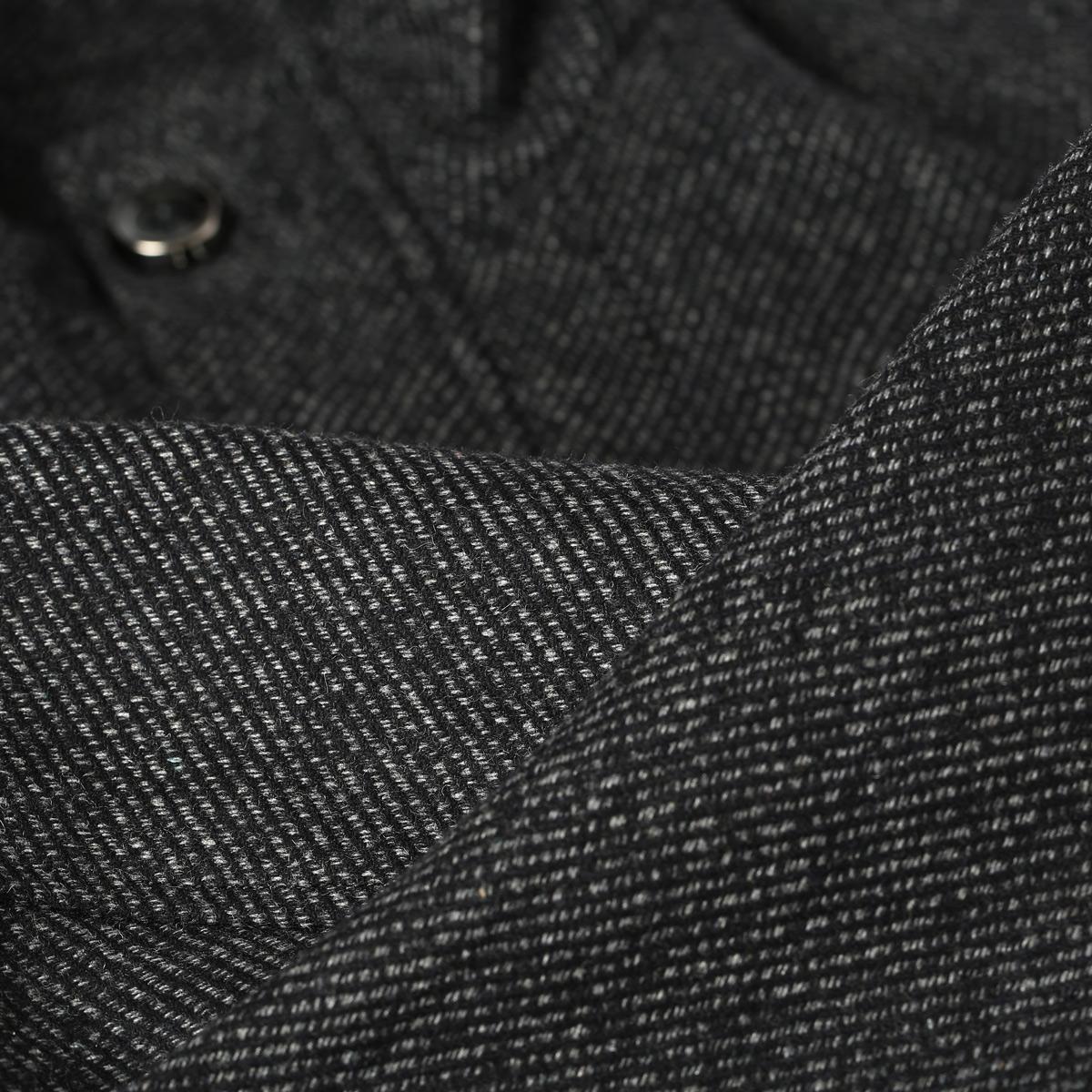 Пальто мужское OSA 40.4 Шерстяная ткань для пальто Без воротника со стойкой