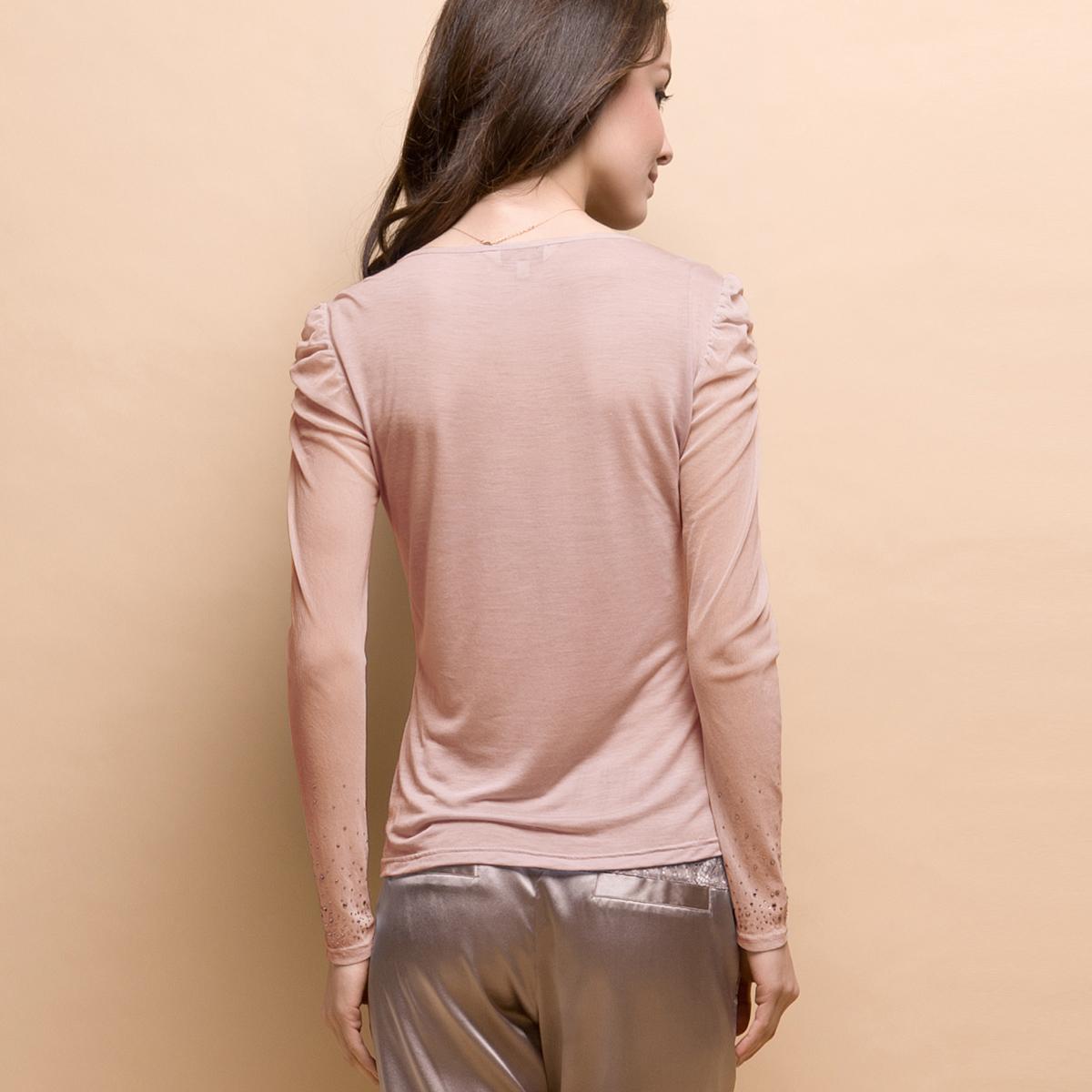 Одежда для сна Gold Three Pagodas yzw2a717 Ткань 10 шелка 90 модальных ткани два 100 Kam Другие материалы Свитер % Весна % Гламурный стиль % Девушки