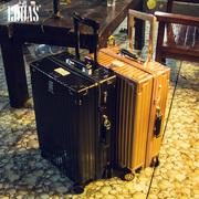 拉杆箱女行李箱复古旅行箱万向轮男26学生密码箱包20寸24皮箱子28
