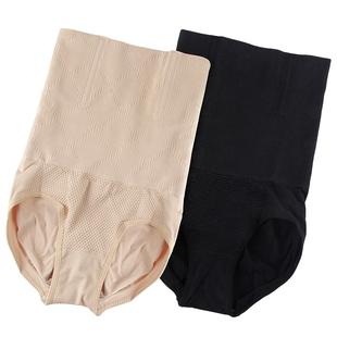 产后收腹内裤头女高腰提臀塑身衣纯棉不燃脂收复收胃塑形束腰美体