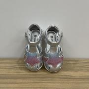 斯乃纳童鞋2021夏季女童宝宝鞋包头凉鞋SP1220441