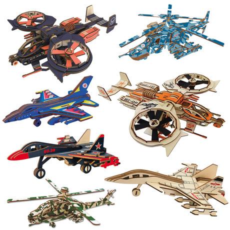 木制飞机模型