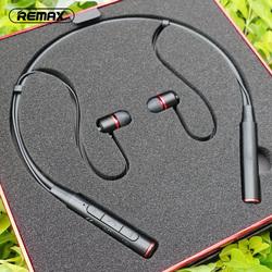 Remax颈挂式蓝牙耳机悟空脑后挂脖项圈运动跑步听歌健身无线颈戴双耳5.0入耳式苹果重低音耳塞耳麦睿量RB-S6