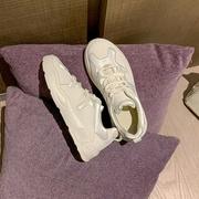 透气小白鞋女学生韩版百搭夏季ins板鞋休闲运动鞋超火老爹鞋