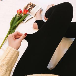 2018秋冬季加厚显瘦保暖外穿光腿袜子瘦腿网红打底丝袜女