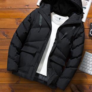 2018秋冬季厚外套棉衣男士棉袄短款棉服加厚面包服潮男装