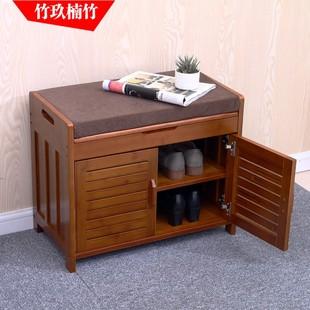 进门家用门口鞋凳子穿鞋凳沙发凳可坐式鞋柜鞋架换鞋凳收纳储物凳