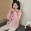 米雅诺2018棉衣短款轻薄女学生小棉袄外套羽绒棉服面包服