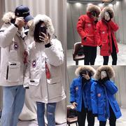 加拿大大鹅羽绒服男女雪咒2018远征款网红鹅绒中长款