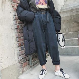豆腐小姐大码女装胖mm最爱大腿粗的裤子冬装微胖女生穿搭显瘦女裤
