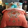 北极绒磨毛四件套全棉加厚床单被套1.5米纯棉2.0双人床上用品1.8m