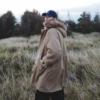 冬季羊羔绒内胆保暖棉衣男士毛领连帽棉服中长款多口袋外套男