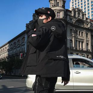 2019冬季棉衣男士外套冬季棉服帅气加厚棉袄潮流短款工装上衣