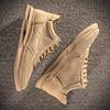 男鞋冬季潮流英伦百搭鞋子男潮鞋低帮工装鞋男士真皮板鞋