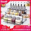 厨房玻璃调料盒套装家用组合装调料瓶盐罐调味盒佐料收纳盒调味罐