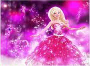 芭比娃娃时尚卡通人物美女钻石画套件魔方圆钻满钻套件非成品