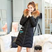 冬季短款棉衣女大毛领棉服保暖秋加厚加大加厚棉袄外套潮