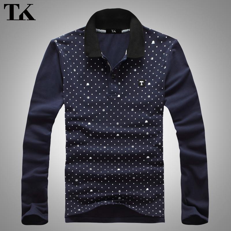 Рубашка поло Tk t466 2012 Polo Осень 2012 Классический рукав Длинные рукава ( рукава > 57см )