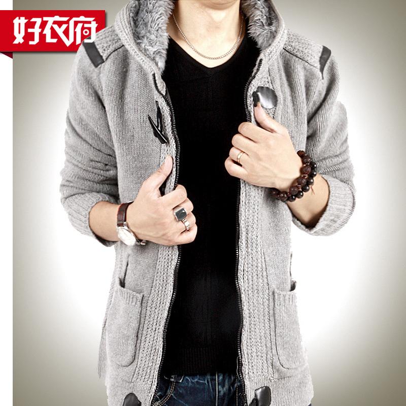 Свитер мужской Good clothes House 1102dx30101l Кардиган Утеплённая модель Зимняя Кашемир 2012