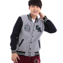 2013 College Wind CA couple baseball shirt men and women Spring and Autumn Sweater cardigan jacket Street tide Korean baseball uniform