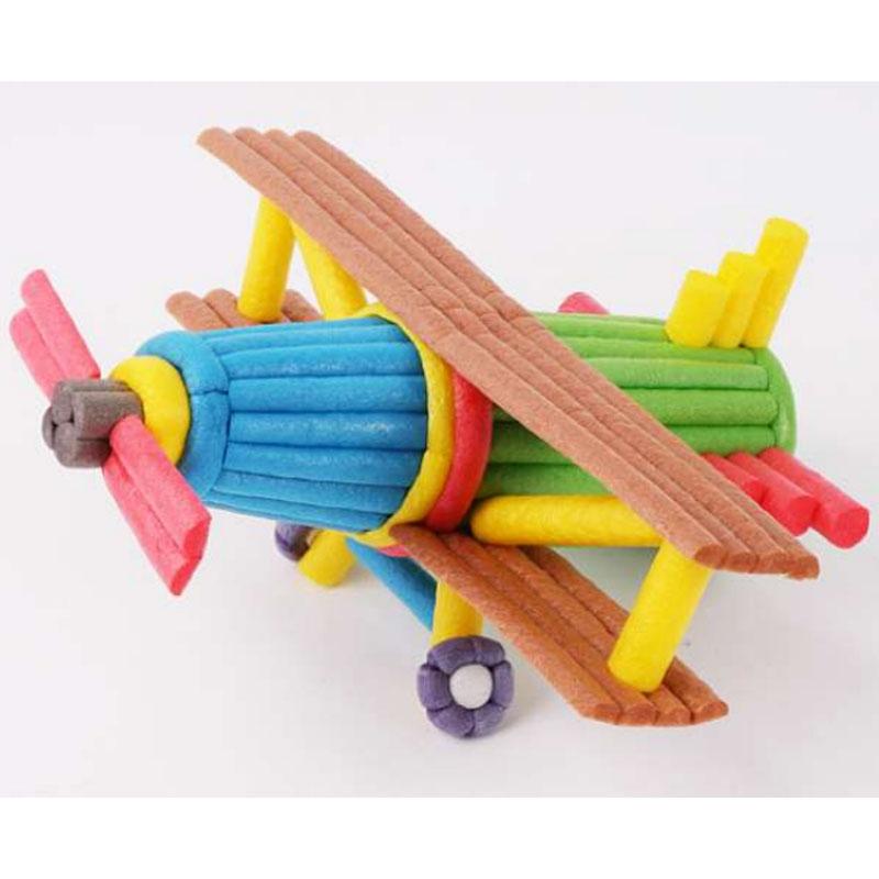 益童汇 玉米积木 DIY玉米棒i儿童益智玩具 早教手工材料 厂家直销