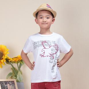夏装帝男童童装T恤短袖2014潮大童新款宝宝儿童短袖T恤